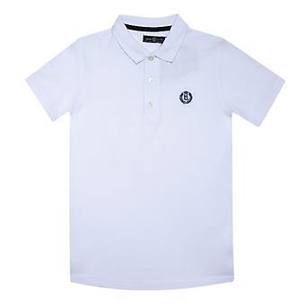 Boy's Henri Lloyd Junior Cowes Polo Shirt in Wit