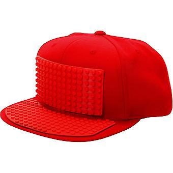 Cappello color mattone blocco rosso per tutti