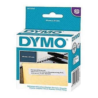 Dymo Lw 19 Mm X 51 mm Blanc