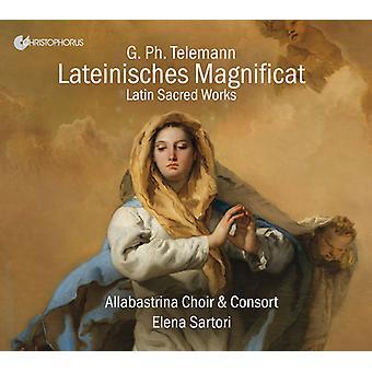 Telemann / Santori / Galli - Lateinisches Magnificat / Latin Sacred Works [CD] USA import