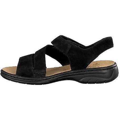Rieker schwarz black sandals womens black 004