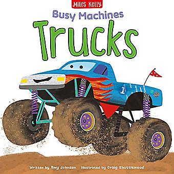 Busy Machines - Trucks by Amy Johnson - 9781786178909 Book