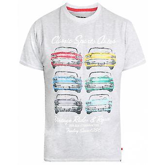 DUKE Duke Classic Car Print T-shirt