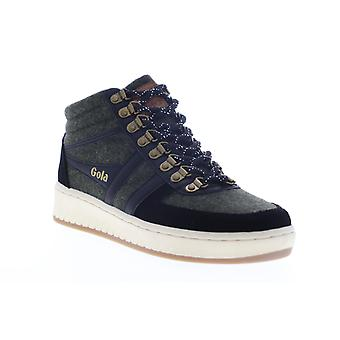 Gola Ascent High  Mens Gray Suede Mid Top Lace Up Lifestyle Sneakers Shoes
