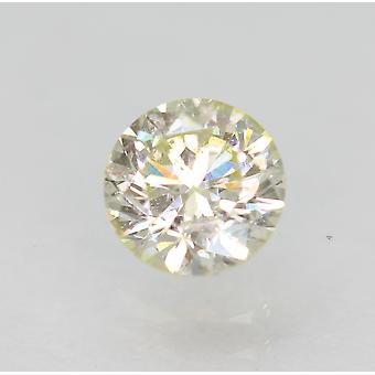 Zertifiziert 0.54 Karat J VS2 Round Brilliant Enhanced Natural Loose Diamond 5.05mm