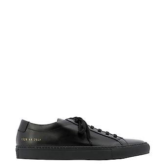 Common Projects 15287547 Men's Black Leather Sneakers
