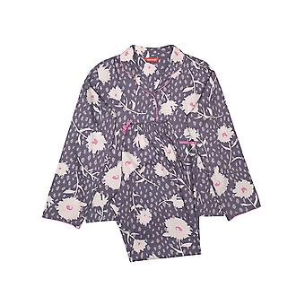 Minijammies Serena 5649 Girl's Lilac Mix Floral Print Pyjama Set