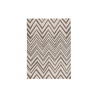 CARPET SIZAL FLOORLUX 20308 Zigzag champagne / taupe