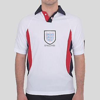 Score Draw Engeland 1998 Home Retro Voetbalshirt
