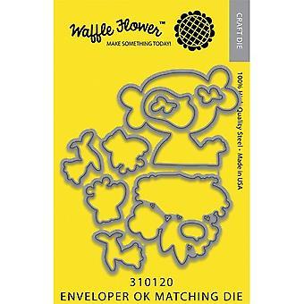 Waffle Flower Die - Enveloper Ok