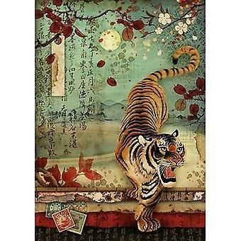 Rice Paper A4 Tiger (DFSA4393)