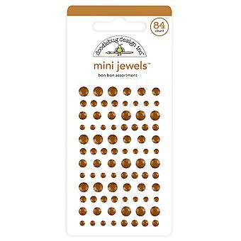 Doodlebug Design Bon Bon Mini Jewels (84pcs) (6724)