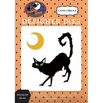Carta Bella Casa Embrujada Scaredy Cat Die Set