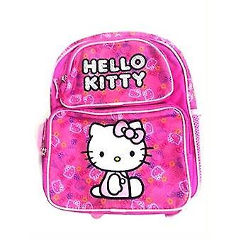 Backpack - Hello Kitty - Pink Felt HK Face 16