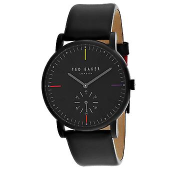 165, Ted Baker Men 's TE50072003 Reloj negro de cuarzo