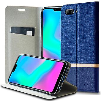 Shell s to Huawei Honor 10 Blue Denim Case Jeans