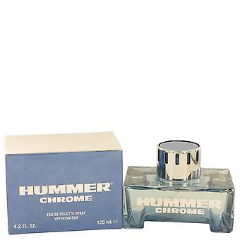 Hummer Chrome Eau De Toilette Spray By Hummer 4.2 oz Eau De Toilette Spray