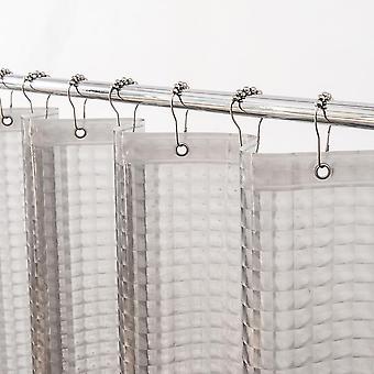 3d Eva klar wasserdichte Dusche Vorhang, Liner Set für Bad