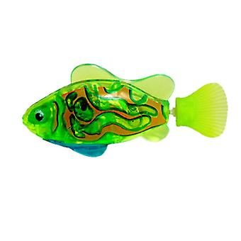 فلاش السباحة الالكترونية الحيوانات الأليفة حمام السمك اللعب ل, الاطفال بطارية حوض الاستحمام بالطاقة