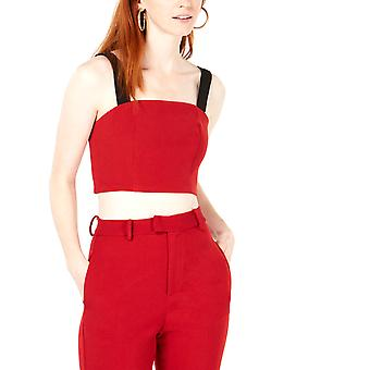 Line + Dot | Rosey Cropped Top