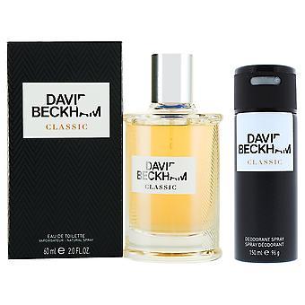 David Beckham Classic Eau de Toilette 60ml & Deodorant Spray 150ml