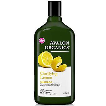 Avalon Organics Clarifying Shampoo, Lemon 11 Oz