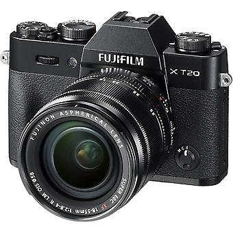 FUJIFILM X-T20 Black KIT XF 18-55mm F2.8-4 Black