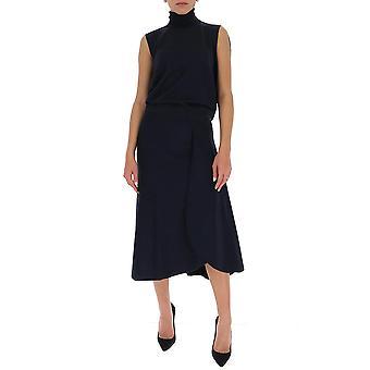 Victoria Beckham 1420kdr001898a Women's Black Polyester Dress