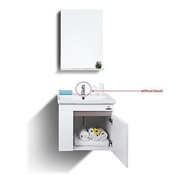 High Quality Bathroom Vanities With Mirror/self-glazing-basin/towel-rack Pvc-material Modern Bathroom Cabinet