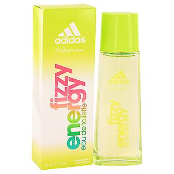 Adidas Fizzy Energy Eau De Toilette Spray By Adidas 1.7 oz Eau De Toilette Spray
