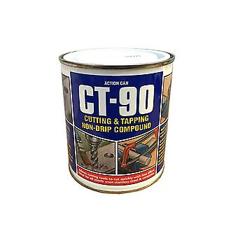 Ct-90 cutting & tapping non drip compound - for drilling sawing tapping all steels alloys cast iron & aluminium