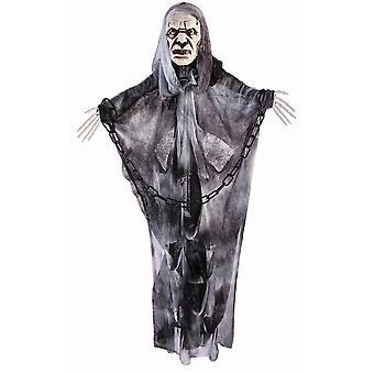 Forum uutuudet Halloween Naamiaispuku asusteet - Vanha mies roikkuu sisustus 3ft