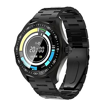 Blitzwolf BW-HL3 Smartwatch Smartband Smartphone Fitness Sport Activity Tracker Watch IPS iOS Android iPhone Samsung Huawei Black Steel