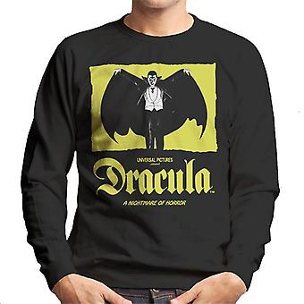 Dracula Nightmare Of Horror Men's Sweatshirt