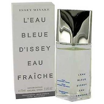 L'eau Bleue d'Issey Pour Homme by Issey Miyake Eau de fraiche Toilette Spray (Tester) 2,5 oz (miehet) V728-459489