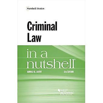 Criminal Law in a Nutshell (Série Nutshell)