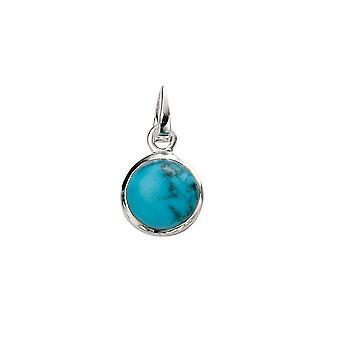 Tyrkysový přívěsek náhrdelník