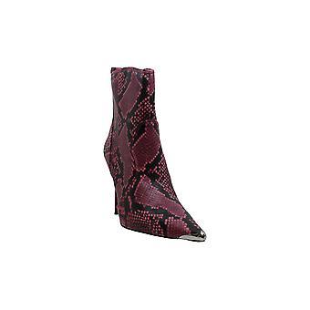 ستيف مادن المرأة & ق أحذية تينا الجلود وأشار إلى أحذية أزياء الكاحل