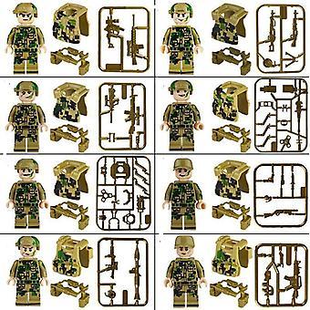 Blocks Toy - Teacher, Doctor, Soldiers, Bricks, Figures Men, People, Minifigs,