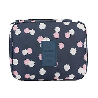 Portable Women Make Up Cosmetic Bag, Waterproof Beauty Case Organizer, Toiletry