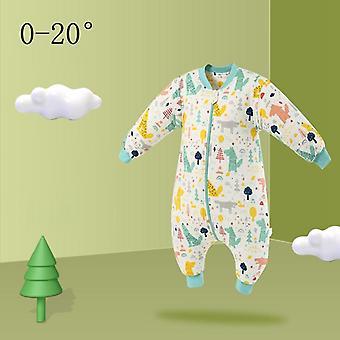 Φθινοπωρινός υπνόσακος, παιδιά χειμώνα παχύ ζεστό sleepwear για νεογέννητο