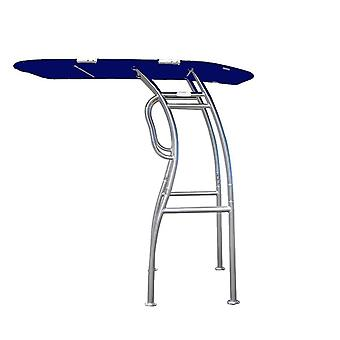 Dolphin Pro S2 T-top Canopy, Anodized Aluminum For Center Console Fishing Boats