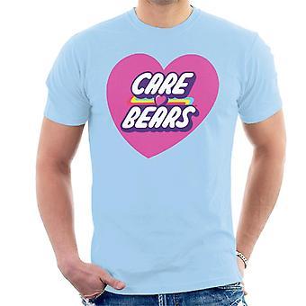 Care Bears Avaa Magic Pink Heart Men's T-paita