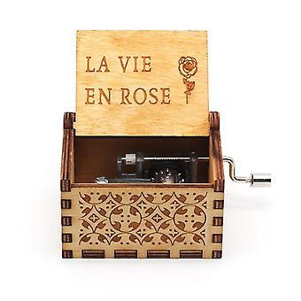 La Vie En Rose Vintage ManoVella Music Box