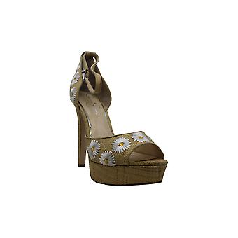 Jessica Simpson mujeres Beeya tela Casual tobillo correa sandalias