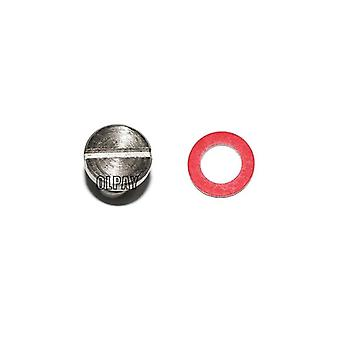 90340-08002-00 Stainless Steel Plug, Screw For Yamaha Boat Engine (silver)
