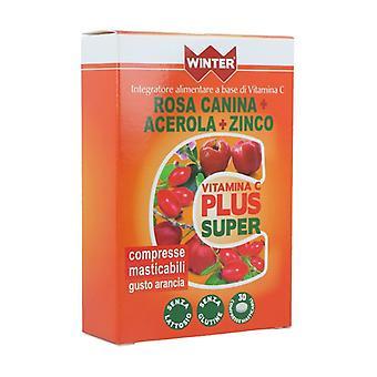 Vit c plus super + zinco 30 chewable tablets