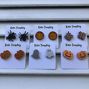 Halloween Themed Box Of Earrings