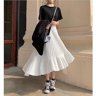 Autumn Irregular Sweet Pleated Chiffon Skirt