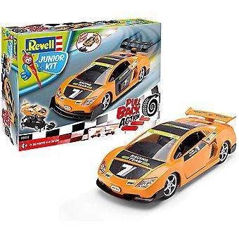 Oranje Pull Back Junior Revell Car Kit